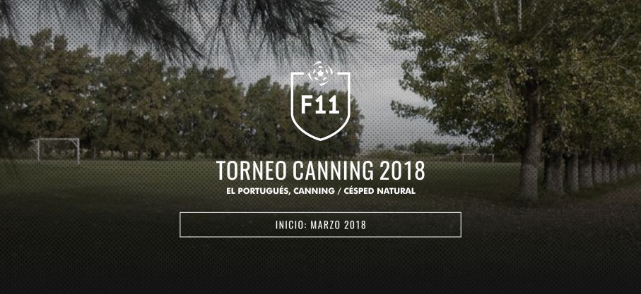 F11 Torneo Canning 2018